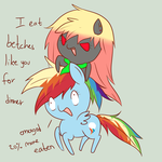 Taste the rainbow mother fucker by PonyFuzzTaste The Rainbow Mother F
