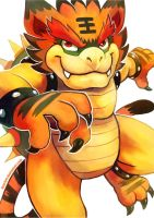 Tiger Bowser by Haychel