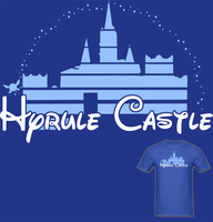 LOZ Hyrule Castle T Shirt by Enlightenup23