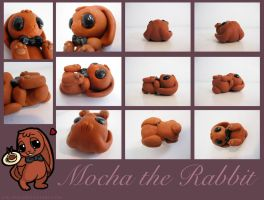 Mocha the Rabbit by Ink--It