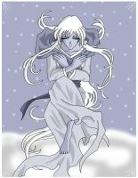 Winter Goddess by AmayaKouryuu
