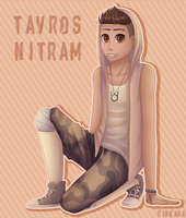 Humanstuck Tav + Speedpaint by Ringamon