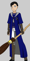 Nathan West as a Quidditch player by Dorothy64116
