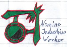 TattooDesign:Nomine Industries by Alucard-Solvdow