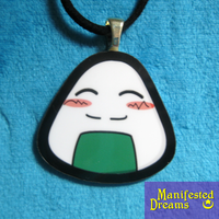 RiceBall Necklace by ManifestedDreams
