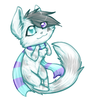 [Commission] AuraStar Chibi by MystikMeep