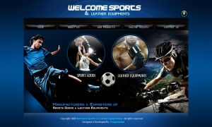 Welcome Sports by xtreamgraphic