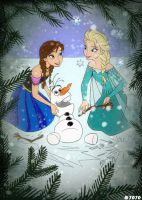 :: Frozen Friendship :: by JoJoAsakura