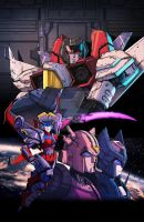IDW Transformers Till All Are One #9 by geeshin