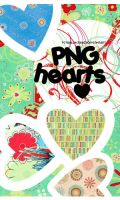 PNG Hearts by TotaallyCraazy