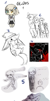 Hell Load of sketches by CrispyCh0colate