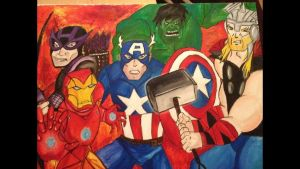 Avengers Assemble by bug-xx