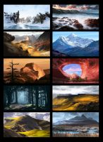 Practice Paintings set-1 by DigitalCutti