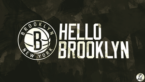 Hello Brooklyn Wallpaper by lucasitodesign
