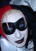 Harley Quinn face by Kixxen