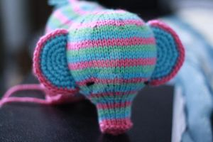 Elefante in progress by tinyowlknits