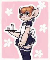 Asura Waitress by Uunimod