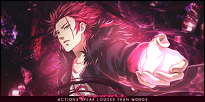 Suoh Mikoto by rafdesigns