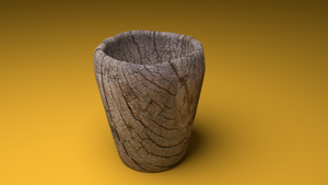 Wooden Cup Blender by BmanDaChampion
