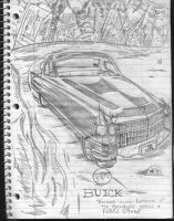 Buick Car Ad by bradchaos