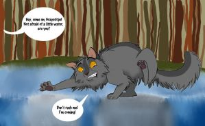 Water is the Enemy by Graystripe64