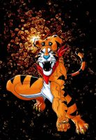 Tony the tiger by Akashoto