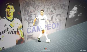Cristiano Ronaldo - Wallpaper by ufuuk7