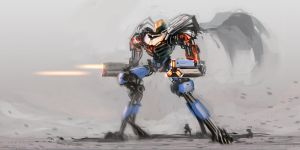 mecha_sketch_0085 by ksenolog