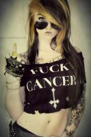 FUCK CANCER! by LollyODiamond