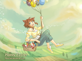 Happy Easter by Moocqie