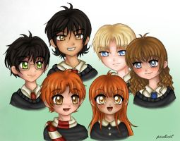 Deathly Hallows. Generation 2 by pinkvil
