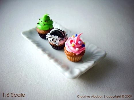 More Cupcakes by CreativeAbubot