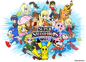 Super Smash Bros For Wii U All Star by RobyApolonio