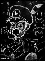 Luigi Death Stare by Dandy-Jon