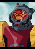 Omega Supreme N Tiny Ratchet by autobotchari