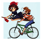 Kiki And Tombo by zamii070