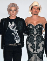 Brad Paisley and Kesha by DekuScrubxx