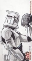 Clone Trooper - Got head? by kohse