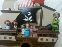 Jolly Roger and Crew Close Up by tink502