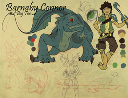 CnC: Barnaby Connor by SaintPumpkinMuffin