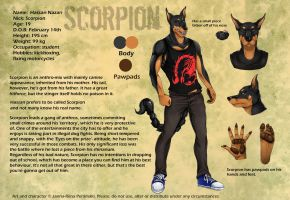 Scorpion -ref.sheet- by Loihtuja