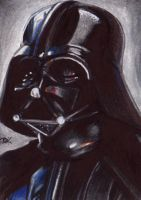 Darth Vader Sketch Card by Ethrendil