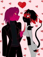 Thrax and Cancer by katestrife