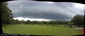 Gust Front Over KP Ranch by madshutterbug
