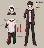 RA : Hino's P.E. uniform by firlinaruning
