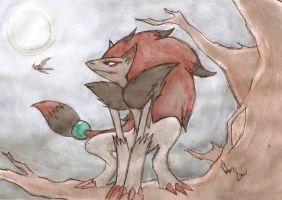 zoroark by thanatos1988