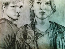 The Tributes of District 12 by jessielz