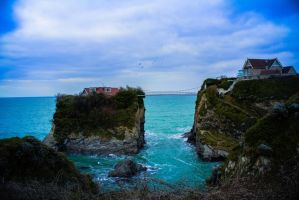 Newquay home bridge by Roban