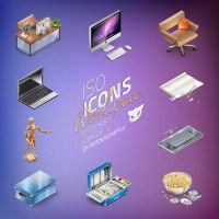 IsoIcons - Workspace by LazyCrazy