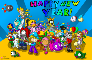 New Years Bash by G-Bomber